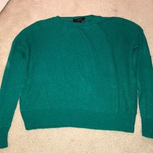 Forever 21 Green Sweater Size S